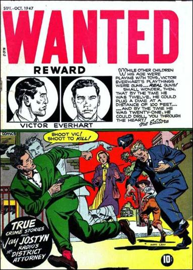 Wanted Comics 9-A by Toytown