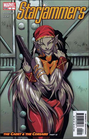 Starjammers (2004) 5-A by Marvel