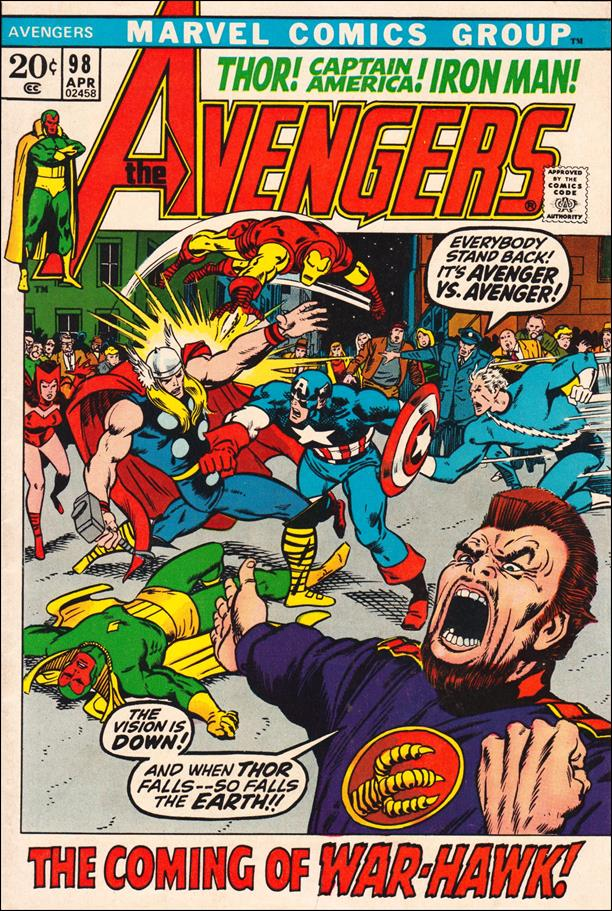 Avengers (1963) 98-A by Marvel
