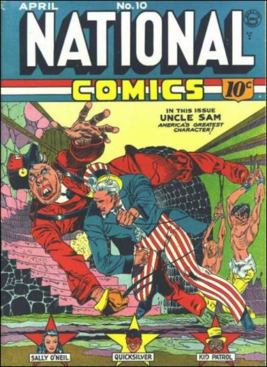 National Comics (1940) 10-A by Quality