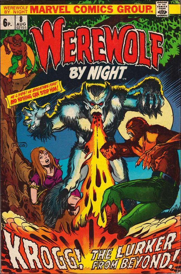 Werewolf by Night (1972) 8-B by Marvel