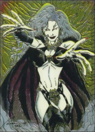 Lady Death All Chromium (Base Set) 74-A by Krome Productions