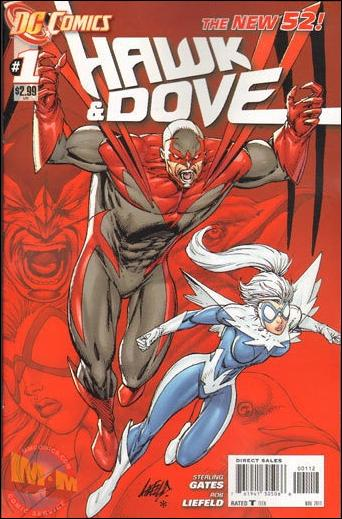Hawk and Dove (2011) 1-B by DC