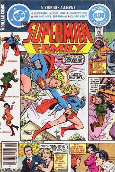Superman Family 203-A by DC