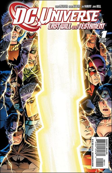 DC Universe: Last Will and Testament 1-A by DC