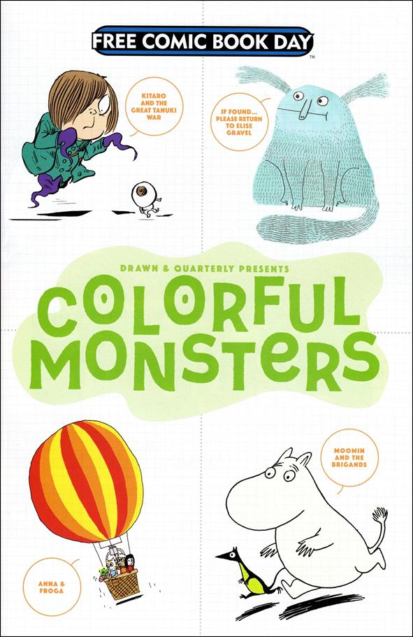 Drawn & Quarterly Presents Colorful Monsters nn-A by Drawn and Quarterly