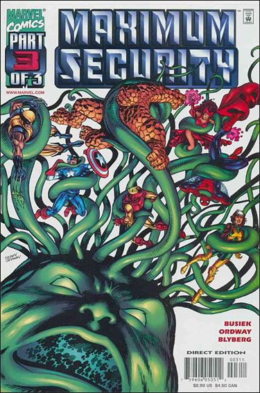 Maximum Security 3-A by Marvel
