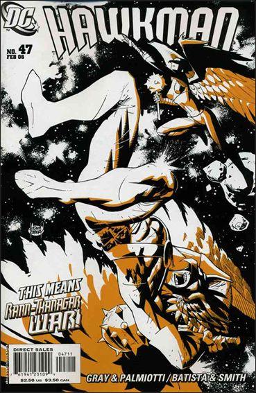 Hawkman (2002) 47-A by DC
