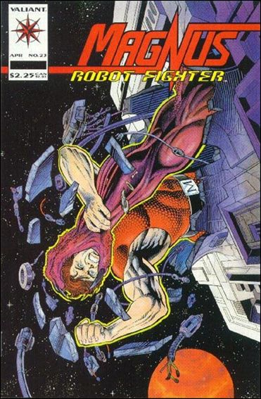 Magnus Robot Fighter (1991) 23-A by Valiant