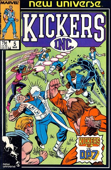 Kickers, Inc. 5-A by Marvel