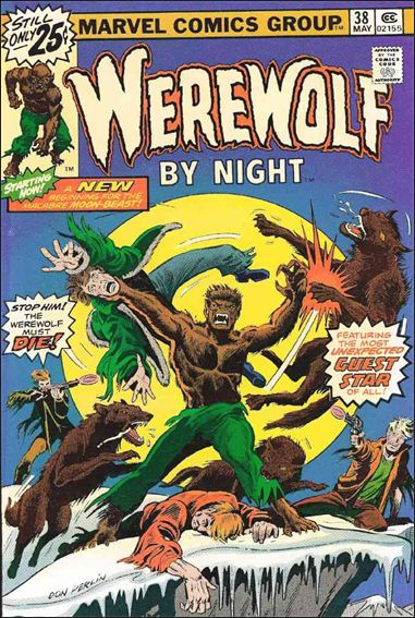 Werewolf by Night (1972) 38-A by Marvel