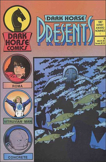 Dark Horse Presents (1986) 8-A by Dark Horse