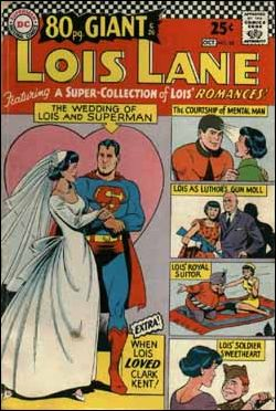 Superman's Girl Friend Lois Lane 68-A by DC