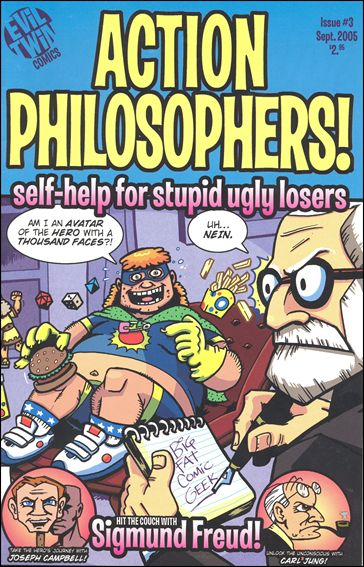 Action Philosophers 3-A by Evil Twin Comics