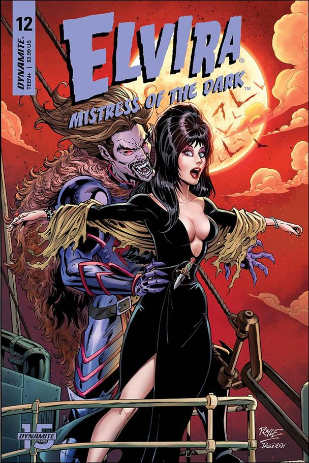 Elvira, Mistress of the Dark (2018) 12-C by Dynamite Entertainment