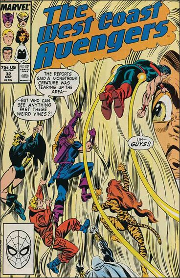 West Coast Avengers (1985) 32-A by Marvel