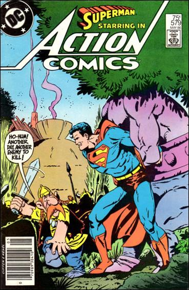 Action Comics (1938) 579-A by DC