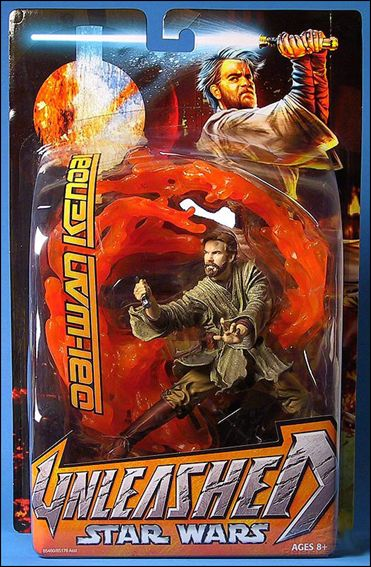 Star Wars: Unleashed Obi-Wan Kenobi (Mustafar - Episode III) by Hasbro