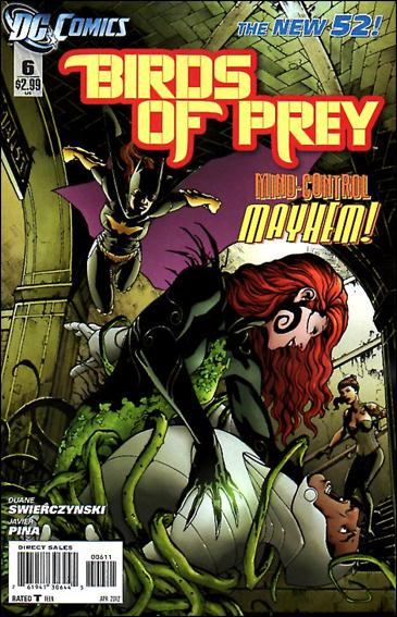 Birds of Prey (2011) 6-A by DC