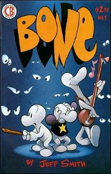 Bone (1991) 1-E by Cartoon Books