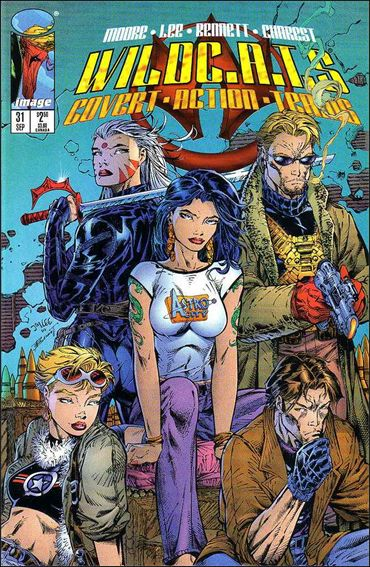 WildC.A.T.s: Covert Action Teams 31-A by Image