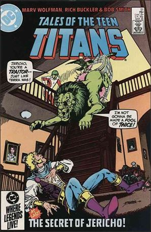 Tales of the Teen Titans 51-A