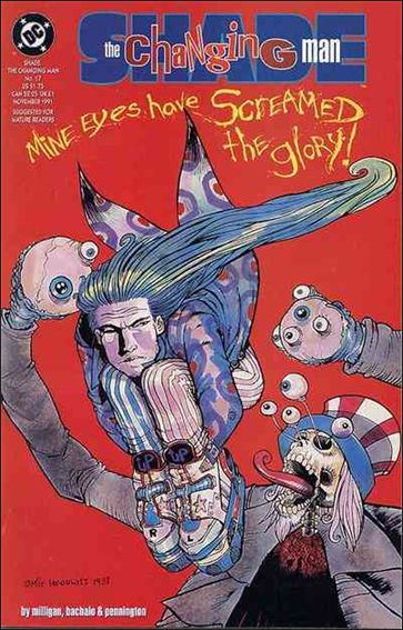 Shade, the Changing Man (1990) 17-A by Vertigo