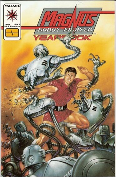 Magnus Robot Fighter Yearbook 1-A by Valiant