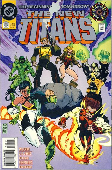 New Titans 0-A by DC