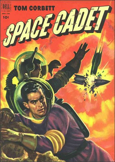 Tom Corbett, Space Cadet (1953) 4-A by Dell