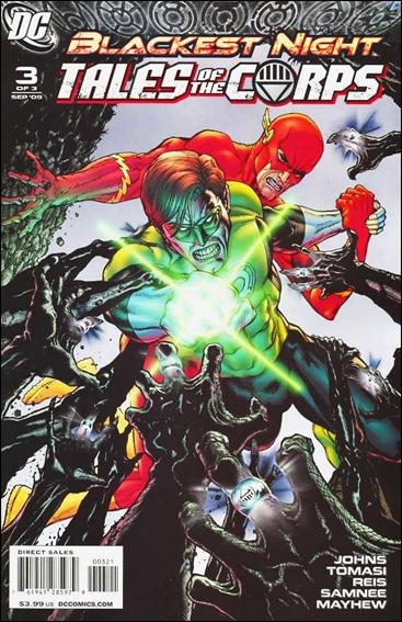 Blackest Night: Tales of the Corps 3-B by DC