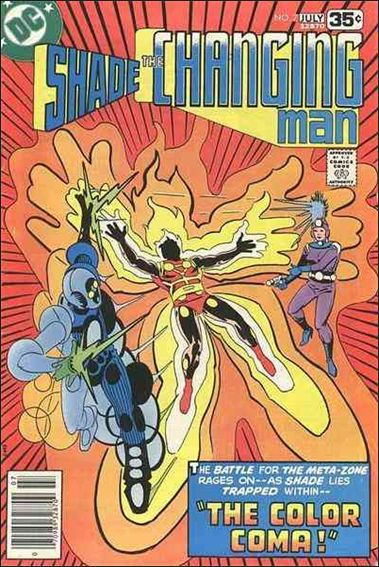 Shade, the Changing Man (1977) 7-A by DC