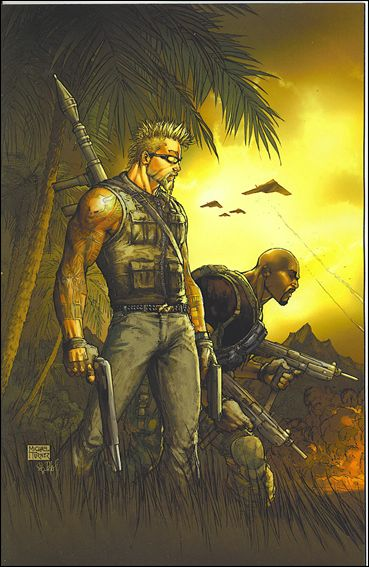 Mercenaries 1-C by Dynamite Entertainment