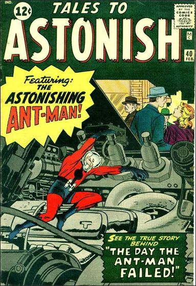 Tales to Astonish (1959) 40-A by Marvel