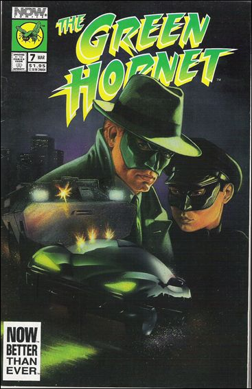 Green Hornet (1991) 7-A by Now Comics