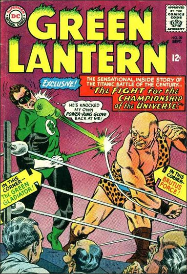 Green Lantern (1960) 39-A by DC