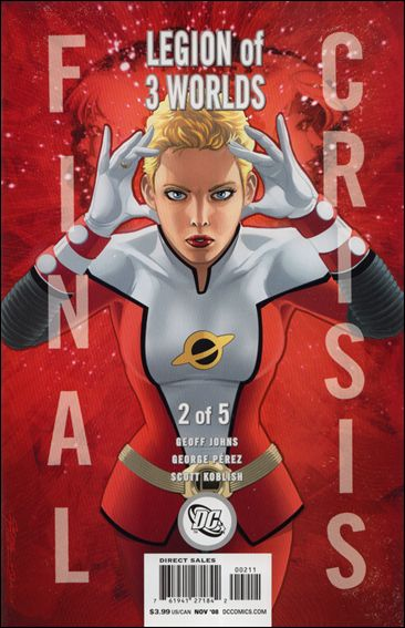Final Crisis: Legion of Three Worlds 2-B by DC