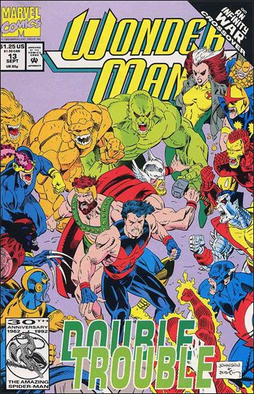 Wonder Man (1991) 13-A by Marvel
