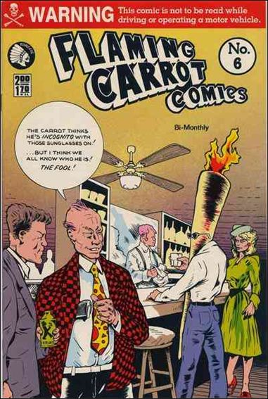 Flaming Carrot Comics (1984) 6-A by Dark Horse