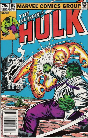 Incredible Hulk (1968) 285-B by Marvel