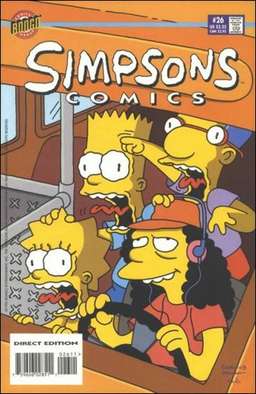 Simpsons Comics 26-A by Bongo
