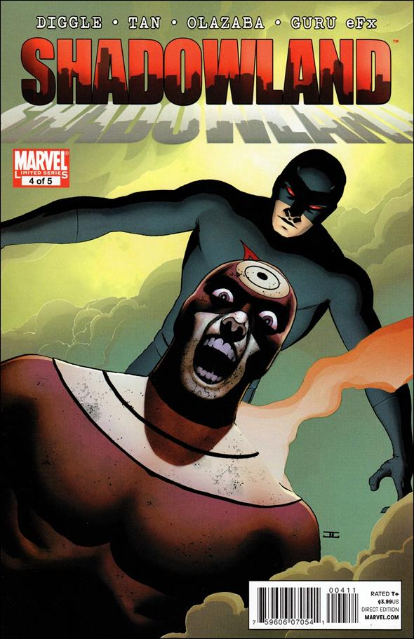 Shadowland (2010) 4-A by Marvel