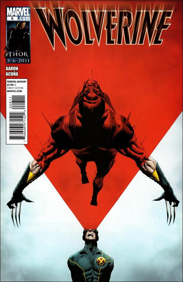 Wolverine (2010) 8-A by Marvel