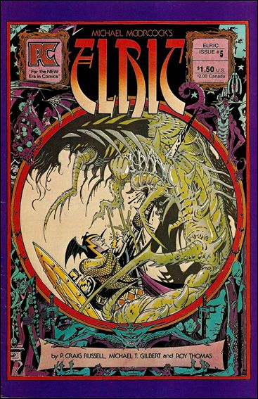 Elric of Melnibone 5-A by Pacific Comics