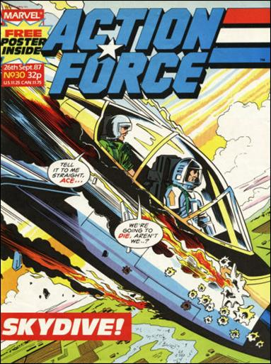 Action Force (UK) 30-A by Marvel UK