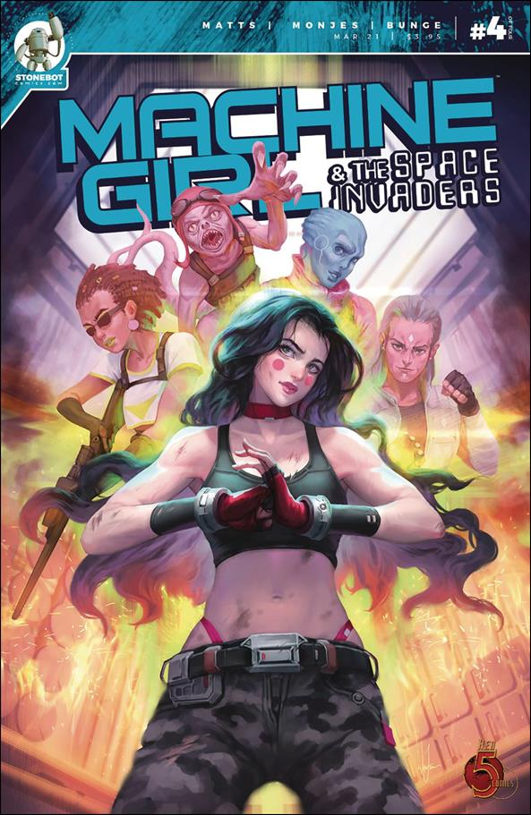 Machine Girl & the Space Invaders 4-A by Stonebot Comics