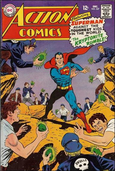 Action Comics (1938) 357-A by DC