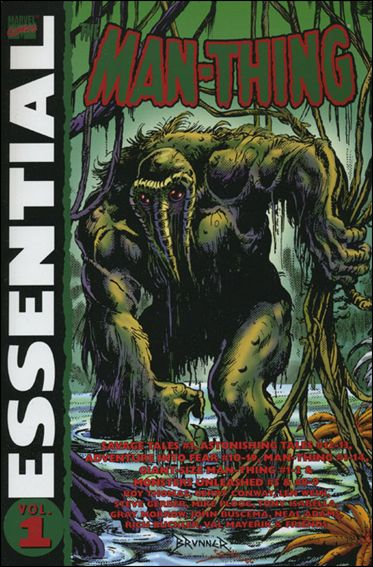 Essential Man-Thing 1-A by Marvel