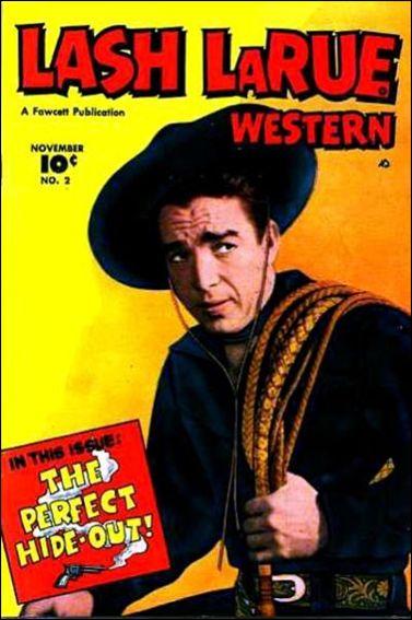 Lash LaRue Western 2-A by Fawcett
