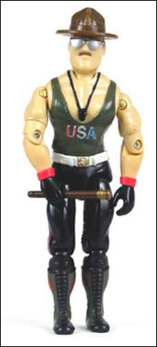 "G.I. Joe: A Real American Hero 3 3/4"" Basic Action Figures Sgt. Slaughter (Mail Away) (Drill Instructor) by Hasbro"